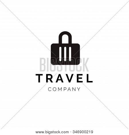 Travel Logo Template Design Vector. Flat Modern Design. stock photo