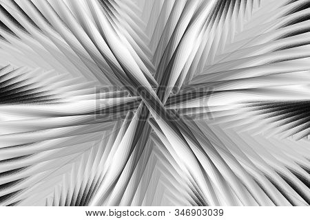 Abstract fractal background.Abstract painting multicolor texture.Motion holiday background.Modern multicolor futuristic dynamic pattern.Fractal 3d artwork creative graphic design.Monochrome.Black and white stock photo