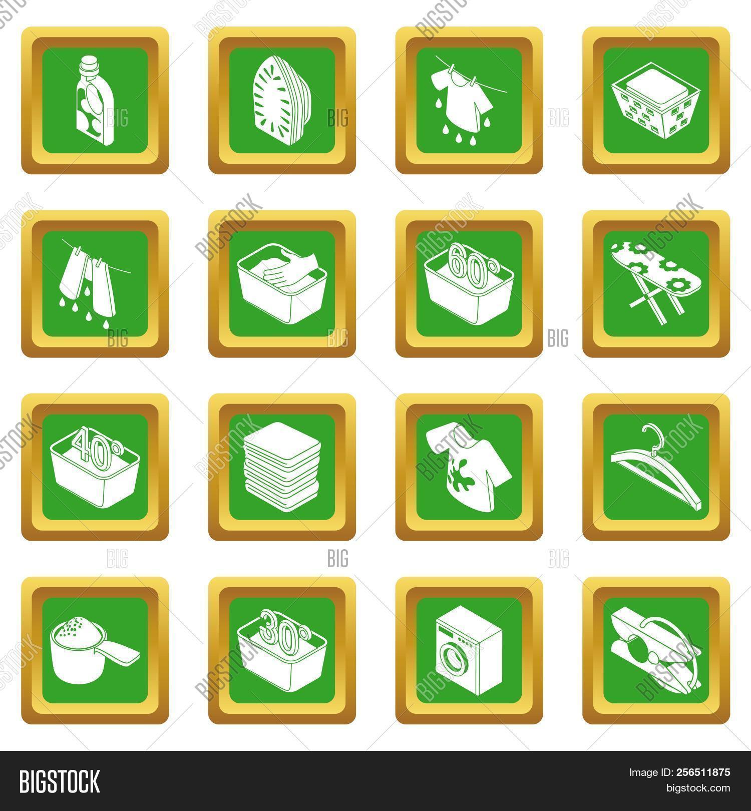 3d,bar,basin,basket,board,bottle,clean,cleaner,cleaning,clothes,clothespin,collection,design,detergent,dirt,dryer,equipment,glove,green,hanger,icon,illustration,iron,ironing,isolated,isometric,laundry,machine,pictogram,recycling,set,shampoo,shirt,sign,simple,soap,spray,symbol,t-shirt,temperature,thermometer,towel,trembler,wash,washer,washing,water