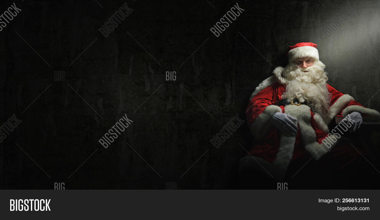 Santa Claus Is Drunk Or Has A Burnout And Needs A Break After Christmas.