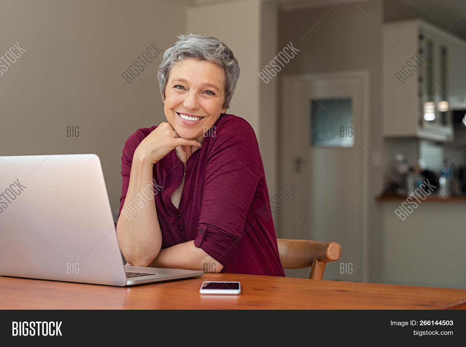 beautiful,beautiful woman,business,businesswoman,casual woman,caucasian,cheerful,communication,computer,connection,copy space,digital,elder,elderly,elderly woman,gray hair,happy,home,indoor,internet,laptop,leisure,living room,looking,looking at camera,mature,matured,old,online,pc,people,portrait,positive,relax,retired,retired woman,retirement,senior,sitting,smile,technology,toothy smile,wifi,wireless,work,working at home