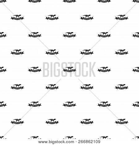 Jurassic dino pattern seamless repeat for any web design stock photo