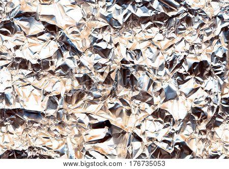 detail alluminium texture as nice silver background stock photo