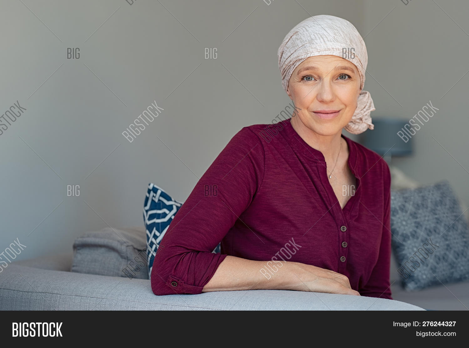50s,60s,battle,cancer,cancer cells,cancer patient,cancer survivor,care,chemo,chemotherapy,chemotherapy patient,clinic,copy space,determination,disease,hair loss,happy,head scarf,headscarf,health,health care,healthcare,home,ill,illness,looking,mature,matured,medical,medicine,mid adult woman,middle aged woman,old woman,oncology,pain,patient,people,recovery,scarf,senior,senior woman,serene,sickness,smile,suffer,survivor,therapy,treatment,tumor