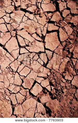 Cracked earth as a background, high resolution stock photo
