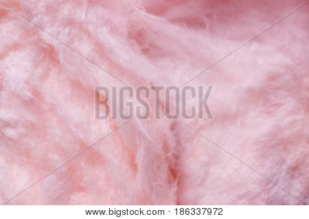 Sweet cotton candy, closeup stock photo