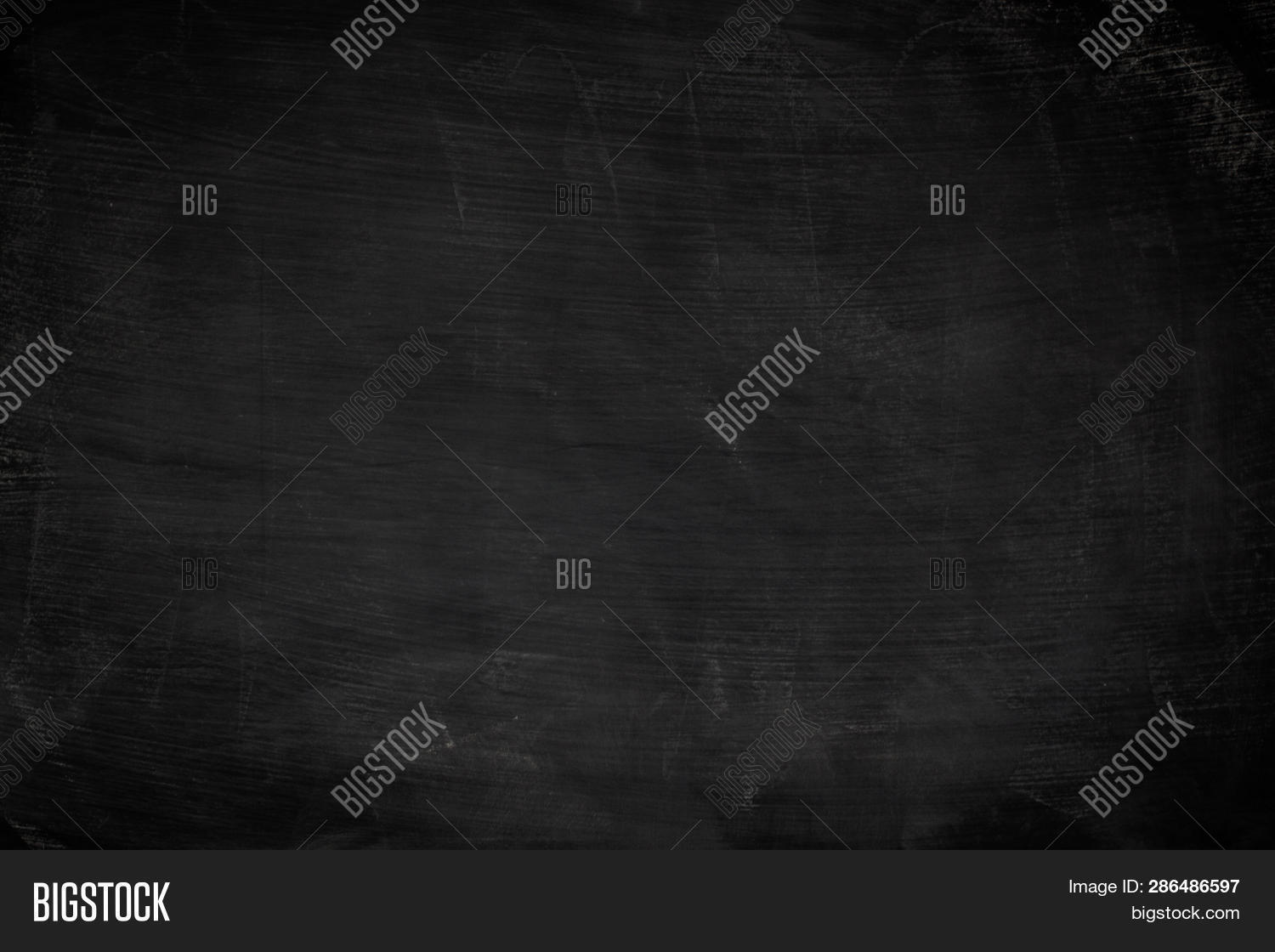 Black Grunge Dirty Texture With Copyspace. Abstract Chalk Rubbed Out On Blackboard Or Chalkboard Bac