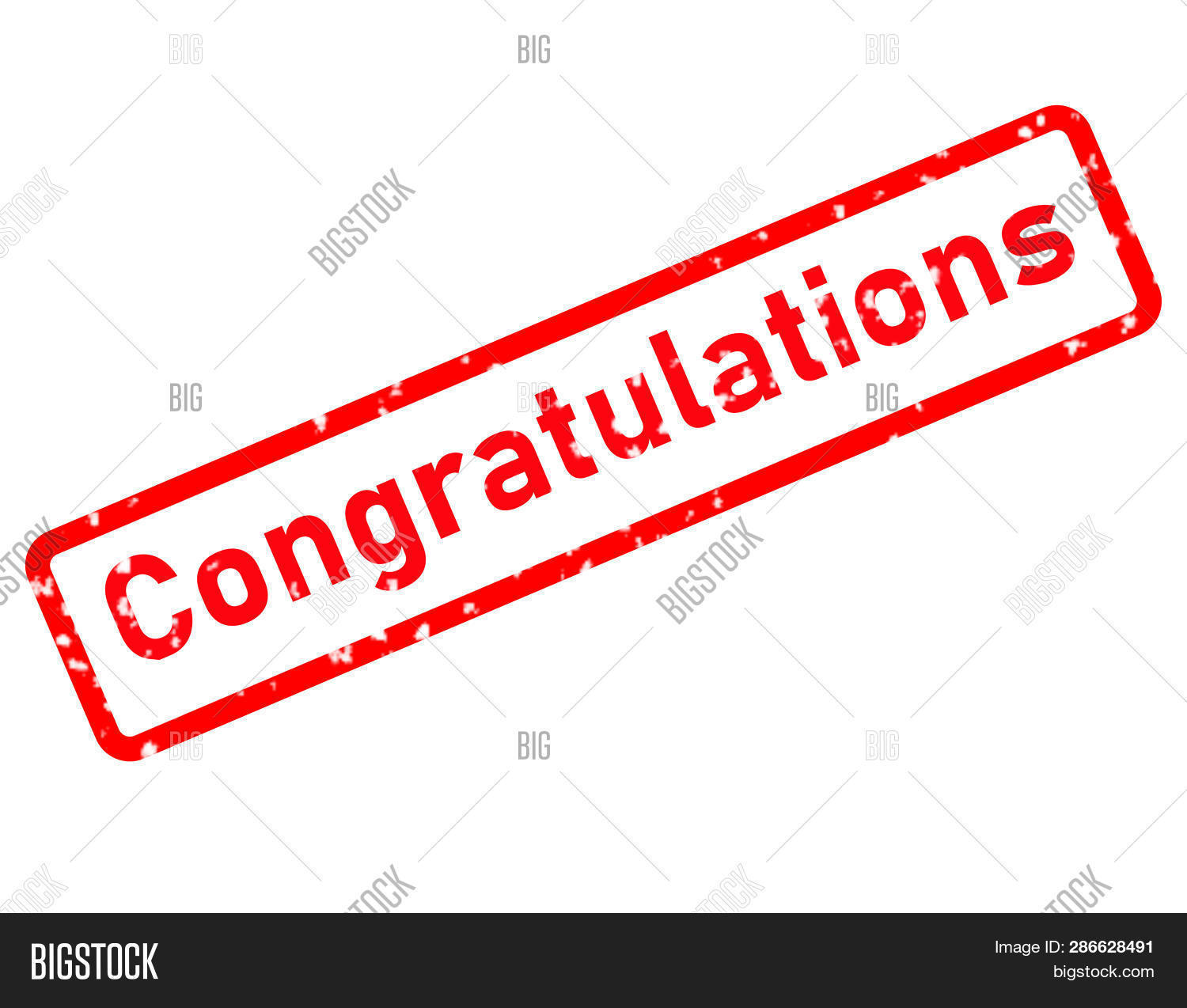 Congratulations Stamp Red Rubber Stamp On White Background. Congratulations Stamp Sign. Affiliate St