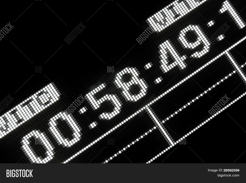 🔥 Macro Shot-display Of The Broadcast Video Recorder