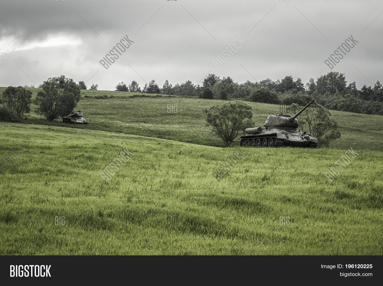 🔥 Russian Tanks T-34 From World War Ii, Slovakia