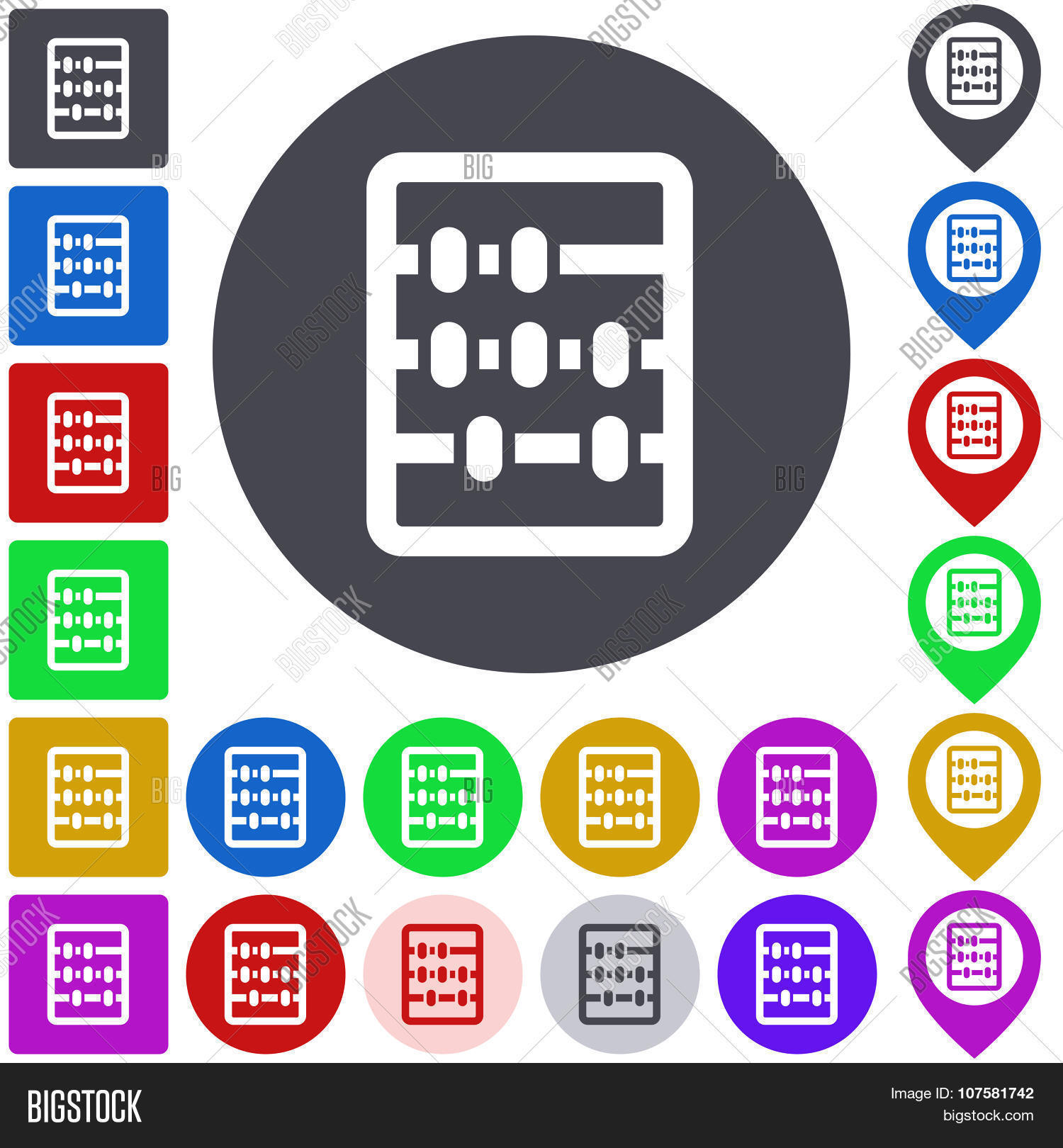 abacus,abstract,accounting,add,addition,app,arithmetic,button,collection,colorful,concept,count,design,element,flat,graphic,icon,label,logo,mark,math,mathematical,mathematics,panel,pictogram,pin,pointer,seal,set,shape,sign,square,stamp,substraction,symbol,token,tool,ui,vector,web