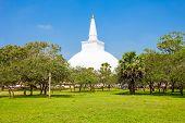 Ruwanwelisaya Stupa In Anuradhapura, Sri Lanka