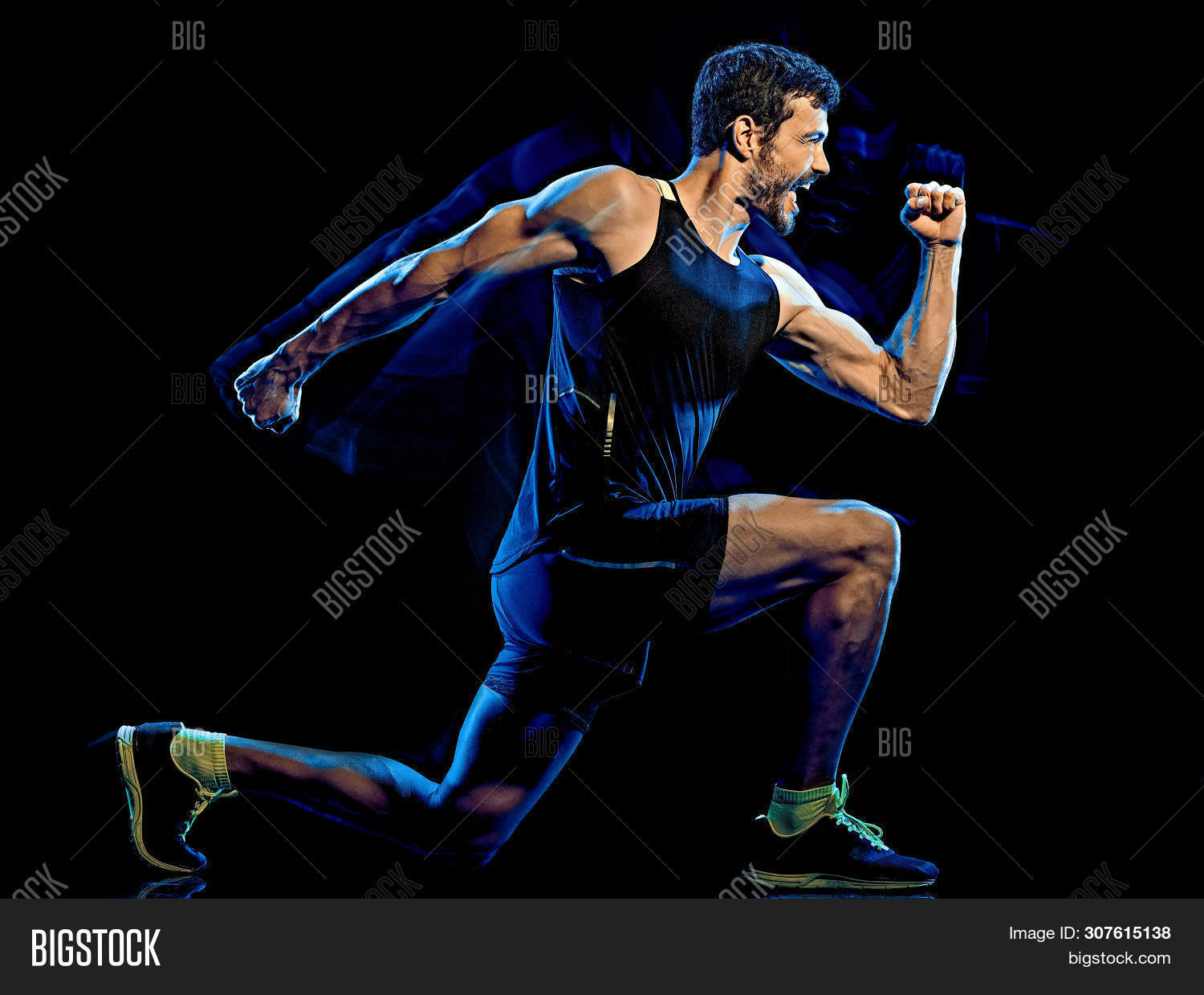aerobics,black background,body attack,body combat,cardio,cardio boxing,caucasian,crouching,cut out,exercises,exercising,fitness,full length,gym,happy,isolated,joy,lunges,male,man,mature,mills,muscles,muscular,one,people,person,piloxing,profile,side view,silhouette,sport,squats,studio shot,training,white,workout