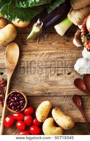 Vegetables-Lg Fridge Magnet Skin (size 36x65)