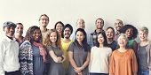 Diversity People Group Team Union Concept