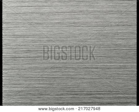 Basic default brushed metal, or hair line pattern metal. No highlight high resolutiuon, Sharp to the corners. stock photo