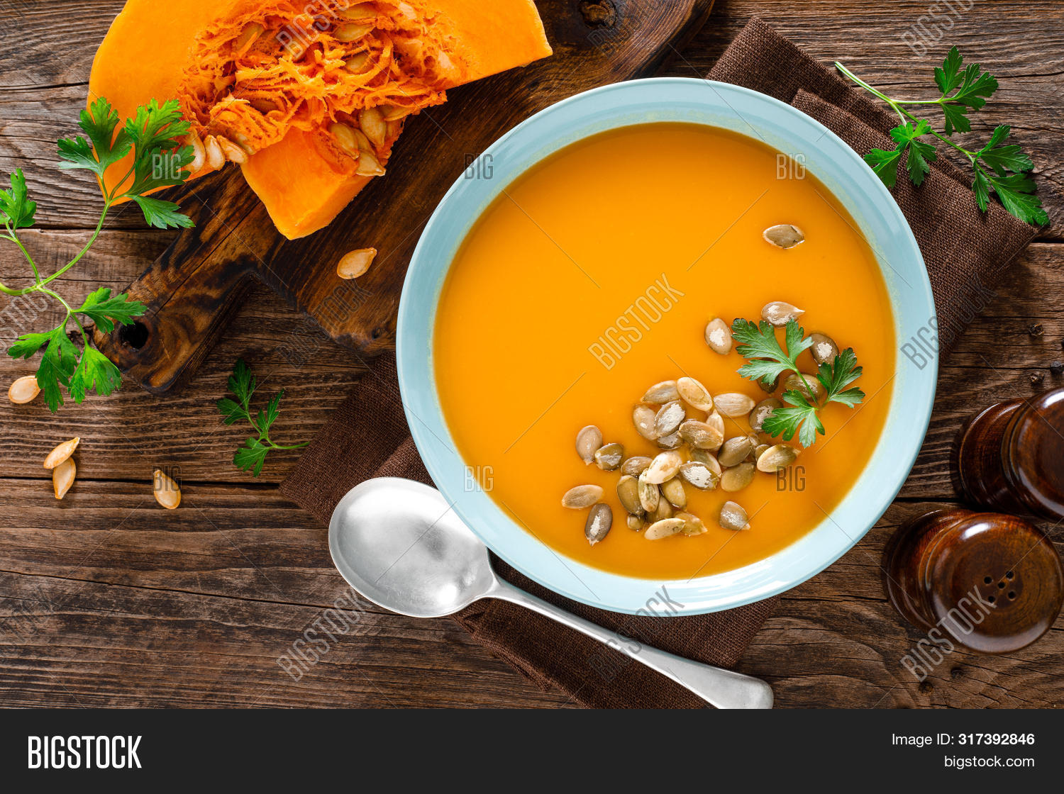 autumn,background,bowl,cooked,cooking,cream,creamy,cuisine,delicious,diet,dinner,dish,eating,fall,food,fresh,gourmet,halloween,healthy,homemade,hot,kitchen,lunch,mashed,meal,natural,orange,parsley,plate,pumpkin,puree,recipe,rustic,seasonal,seeds,smooth,soup,spoon,squash,table,tasty,thanksgiving,top,traditional,vegan,vegetable,vegetarian,view,wooden,yellow