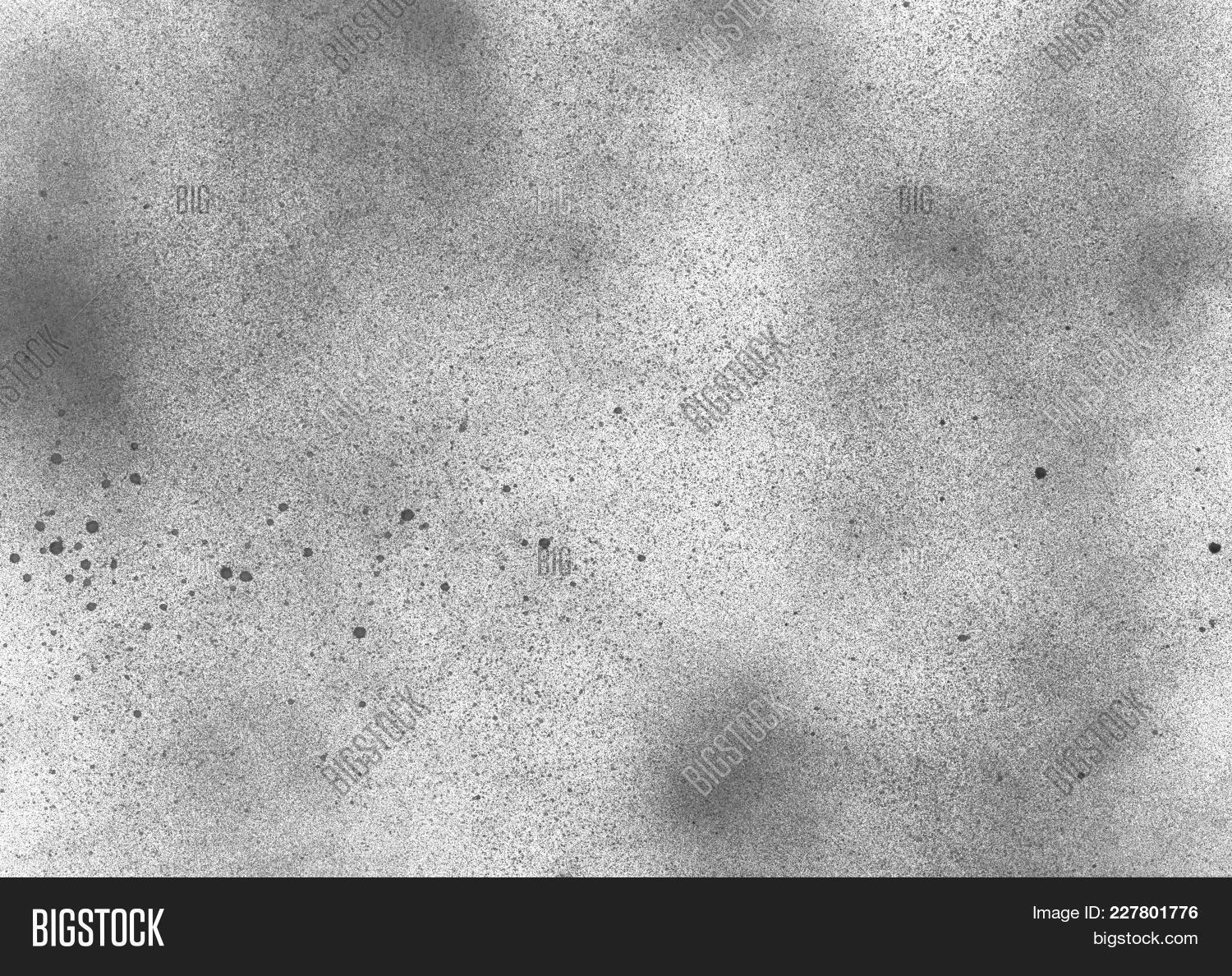 Subtle Grain Texture Abstract Black And White Gritty Grunge Background Dark Paint Spray Particles 227801776 Image Stock Photo