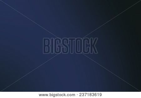 The homogeneous dark background with blue hues, beautiful and calm stock photo