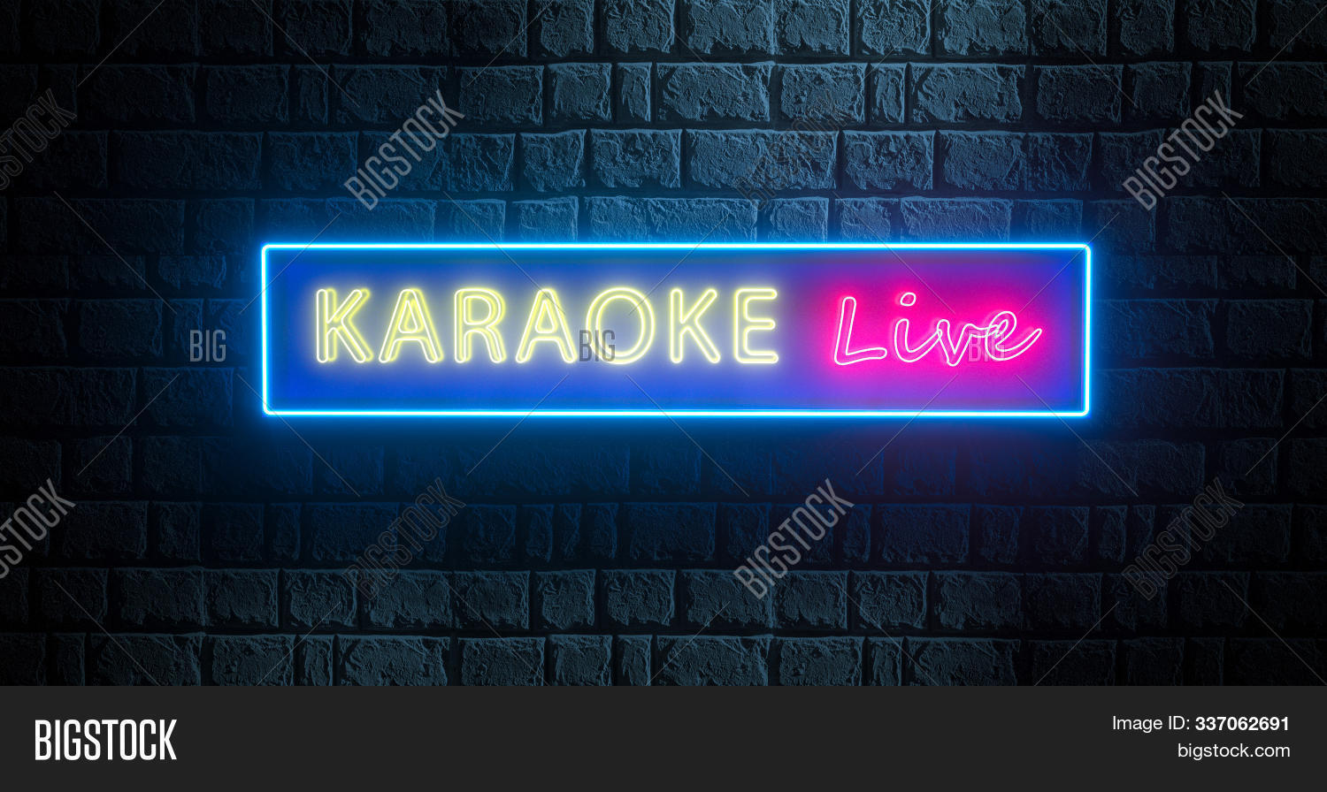 3d,abstract,advertising,background,banner,bar,battle,billboard,blue,brick,bright,club,color,concept,concert,design,disco,entertainment,event,frame,glowing,illuminated,illustration,karaoke,light,live,music,musical,neon,night,nightclub,nightlife,outside,party,pink,red,render,retro,show,sign,signboard,sing,song,street,style,symbol,wall