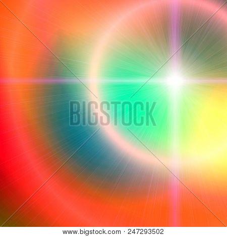 Sunshine Background with Lens Flare - Brilliance Background stock photo