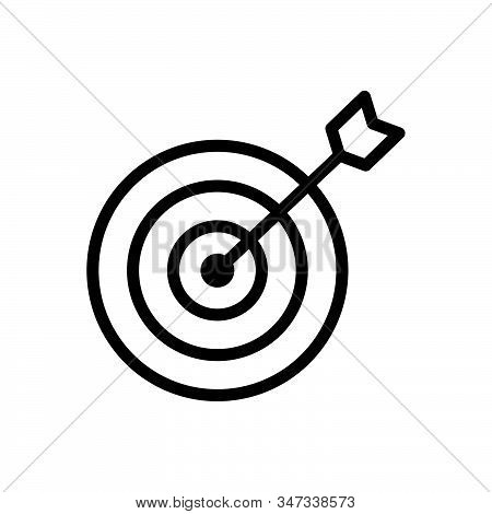 Target icon isolated on white background. Target icon in trendy design style. Target vector icon modern and simple flat symbol for web site, mobile, logo, app, UI. Target icon vector illustration, EPS10. stock photo