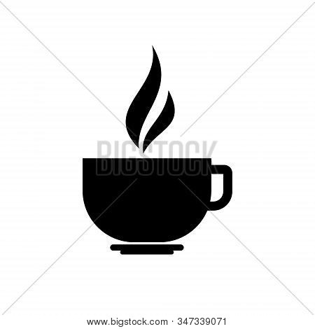 Coffee Cup icon isolated on white background. Coffee cup icon in trendy design style. Coffee cup vector icon modern and simple flat symbol for web site, Mobile, Logo, App, Template, Business. stock photo