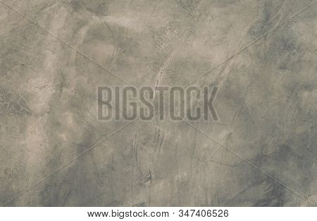 Abstract weathered texture stained old stucco light gray and aged paint concrete black wall background in the room. stock photo