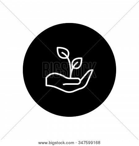 Growth icon isolated on black background. Growth icon in trendy design style. Growth vector icon modern and simple flat symbol for web site, mobile, logo, app, UI. Growth icon vector illustration, EPS10. stock photo
