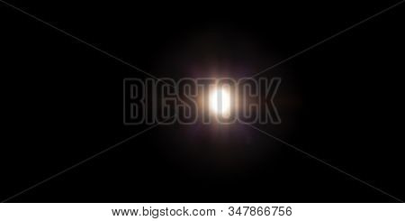 Overlay, flare light transition, effects sunlight, lens flare, light leaks. High-quality stock image of warm sun rays light effects, overlays or golden flare isolated on black background for design stock photo
