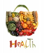 Health nourishment purse