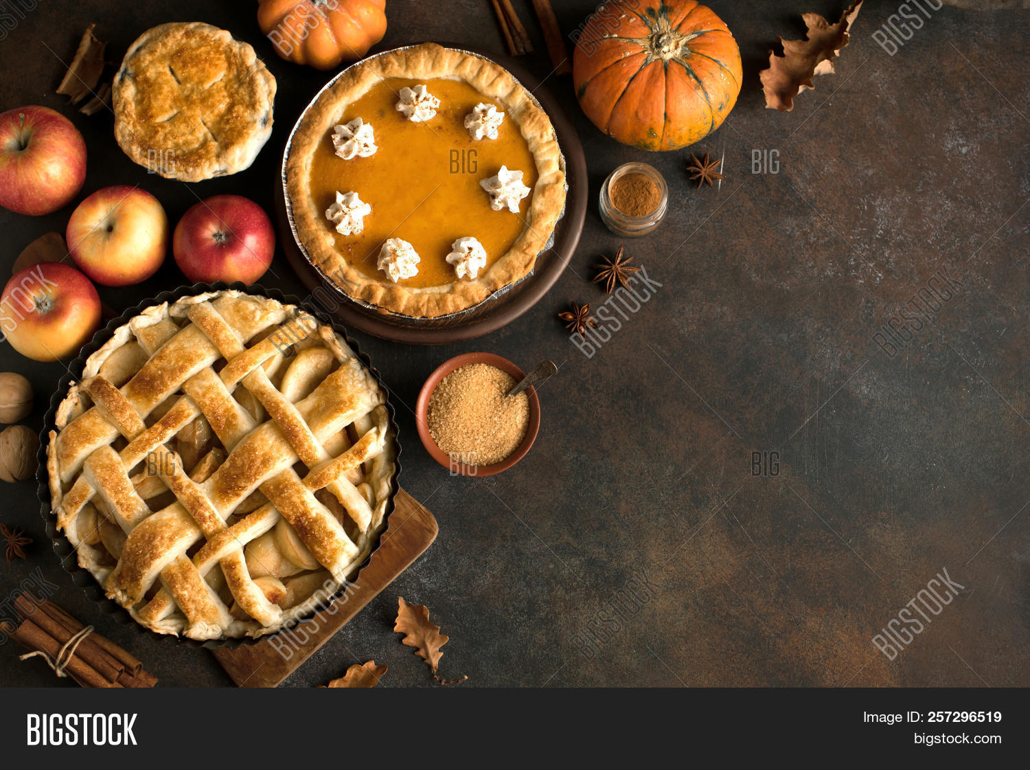 above,american,apple,assorted,autumn,background,baked,brown,cake,cinnamon,copy,cream,crust,delicious,dessert,fall,festive,food,fresh,fruit,golden,holiday,homemade,ingredient,lattice,leaves,orange,overhead,pastry,pecan,pie,piece,pies,pumpkin,rustic,seasonal,space,sugar,sweet,table,tart,thanksgiving,top,tradition,traditional,treat,various,view,whipped,wooden