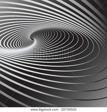 Abstract background with swirl movement effect. Vector art. stock photo