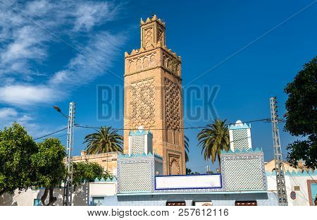 View of a mosque in Oran, Algeria stock photo