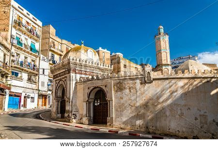 The Hassan Pasha Mosque in Oran - Algeria, North Africa stock photo
