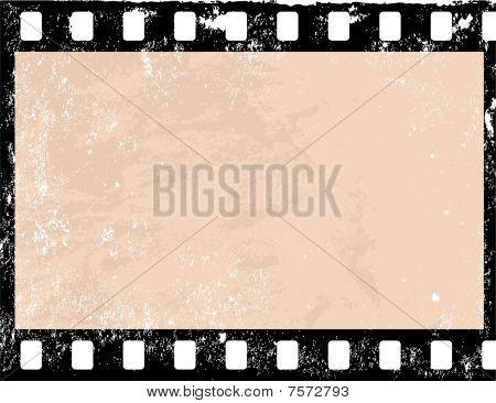 Grunge Camera Vector : Grunge film frame photo stock