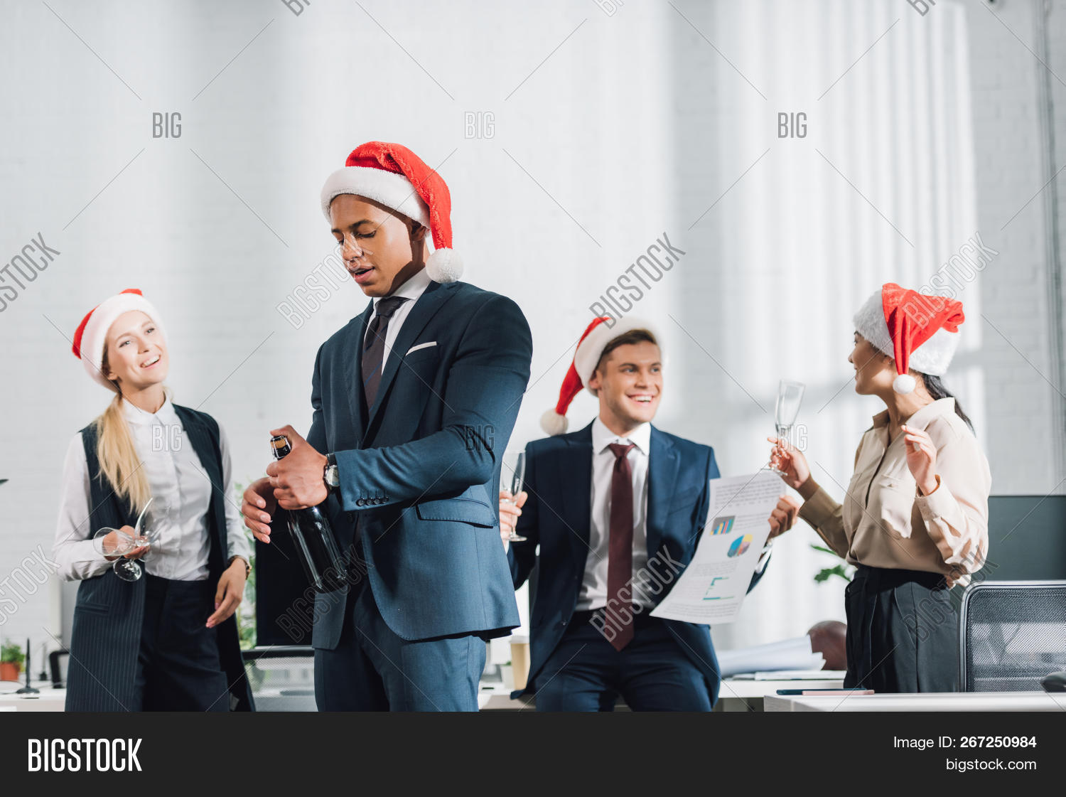 adult,african,alcohol,american,asian,attractive,beautiful,beverage,bottle,business,businessmen,businesswomen,caucasian,celebrate,christmas,colleagues,coworkers,drink,event,female,formal,glasses,handsome,happy,holding,holiday,indoors,male,men,multiethnic,multiracial,new,occupation,office,opening,party,people,profession,professional,santa,together,wear,wine,women,work,workplace,workspace,xmas,year,young
