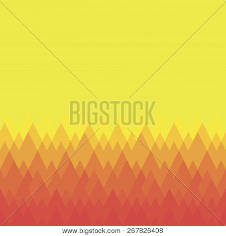 Pattern of geometric shapes. Colorful mosaic backdrop. Geometric background. Triangle background stock photo