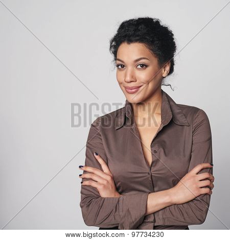Portrait of african american business woman