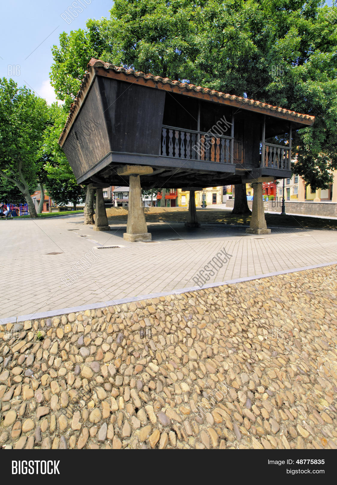 Aviles - beautiful small city in Asturias Region northen Spain.