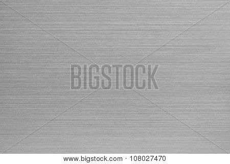Brushed aluminum texture. Chrome metal texture of surface for wallpaper and background. stock photo