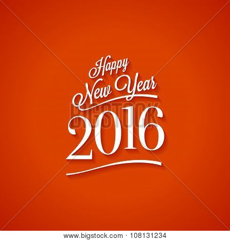 Happy New Year Red