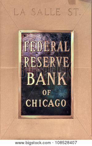 Federal Reserve Bank Of Chicago-Dishwasher Magnet Skin (size 24x24)