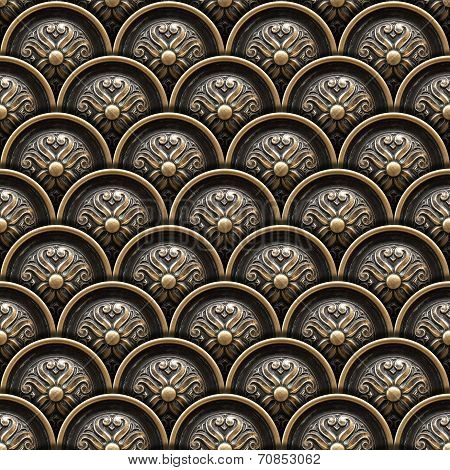 Texture of drawer of a beautiful carved floral work stock photo