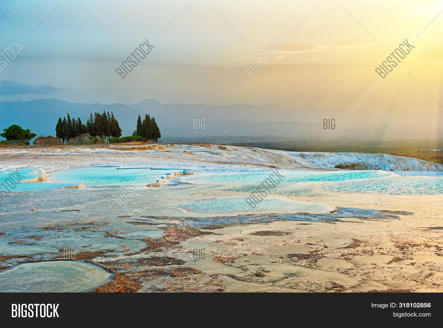 ancient,attraction,basin,bath,beautiful,beauty,blue,crystalline,destinations,dramatic,dusk,famous,flowing,formation,geological,geology,hierapolis,landmark,landscape,mineral,mountain,natural,nature,outdoor,pamukkale,pool,pools,ray,reflection,reserve,rock,scenic,sightseeing,sky,sun,sunrise,sunset,terrace,thermal,tourism,tourist,travel,travertine,turkey,turkish,turquoise,vivid,water,white,yellow
