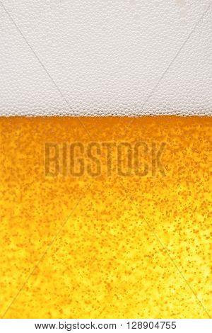 Light Beer Background-Mini Fridge Magnet Skin (size 20x31)