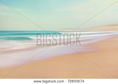 Sea and sand abstract
