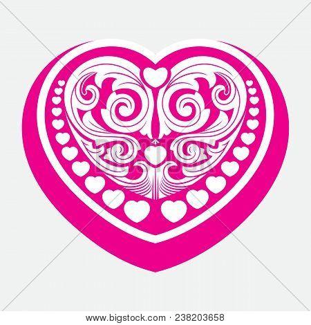 pink vintage ornament, baroque ornament, scroll ornament, engraving border ornament, floral ornament, retro pattern ornament, antique ornament, style acanthus ornament, foliage swirl ornament, decorative ornament, filigree ornament, calligraphy ornament,  stock photo