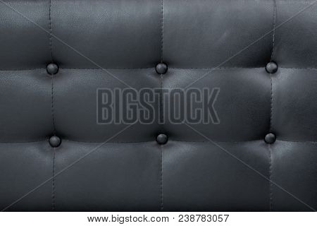 Excellent Luxury Black Leather Sofa With Buttons Background Creativecarmelina Interior Chair Design Creativecarmelinacom