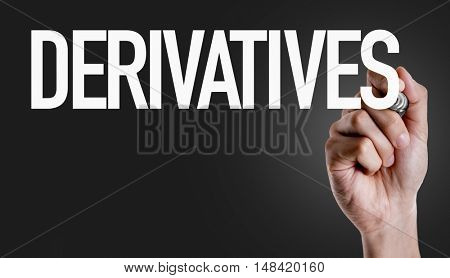 Derivatives stock photo